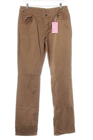 MAC Jeans Stoffhose bronzefarben Casual-Look