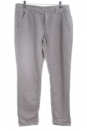 MAC Jeans Stoffhose hellgrau Beach-Look