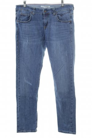 MAC Jeans Straight-Leg Jeans blau Jeans-Optik