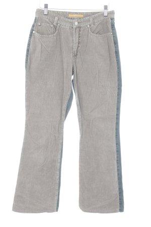 MAC Jeans Straight-Leg Jeans dunkelblau-beige Casual-Look