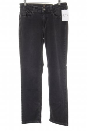 MAC Jeans Straight-Leg Jeans dunkelgrau Casual-Look