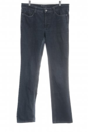 MAC Jeans Straight-Leg Jeans graublau Casual-Look