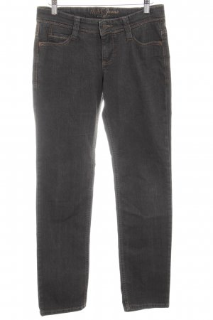 MAC Jeans Straight-Leg Jeans graubraun Casual-Look