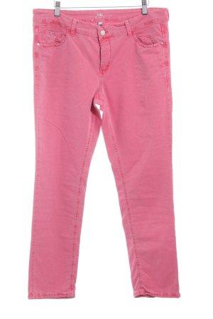 MAC Jeans Vaquero rectos rojo claro estilo sencillo