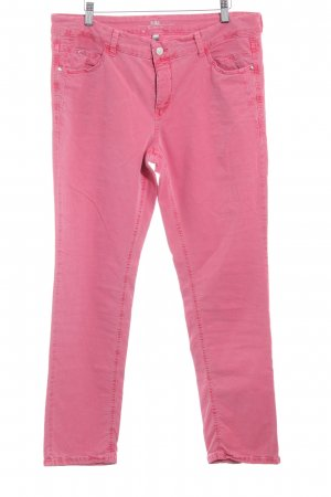 MAC Jeans Straight-Leg Jeans hellrot schlichter Stil