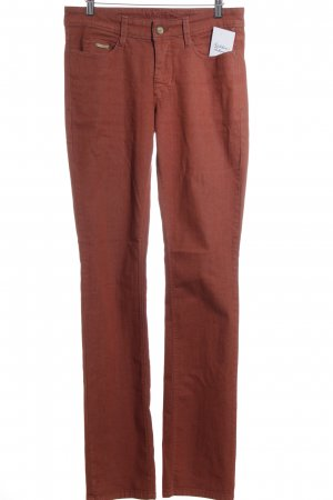MAC Jeans Straight-Leg Jeans rostrot Retro-Look