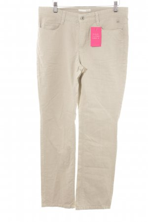 MAC Jeans Stretch Jeans hellbeige Casual-Look