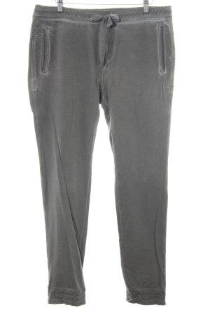 MAC Jeans Pantalon de jogging gris style déchiré