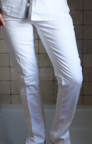 Mac Stretch Trousers white cotton