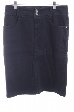 Mac Jeansrock dunkelblau Elegant