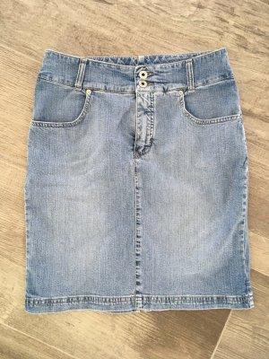 Mac Denim Skirt azure cotton
