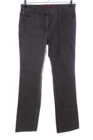 Mac Jeans a zampa d'elefante grigio chiaro stile casual