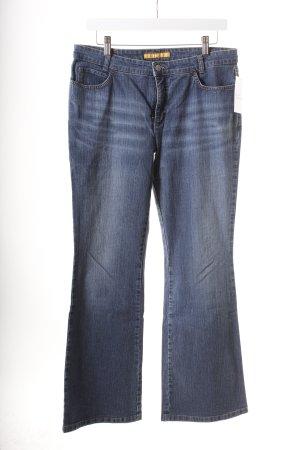 Mac Jeansschlaghose blau Casual-Look