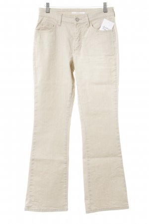 Mac Jeansschlaghose creme Casual-Look