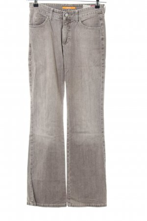 Mac Jeans a zampa d'elefante marrone stile casual