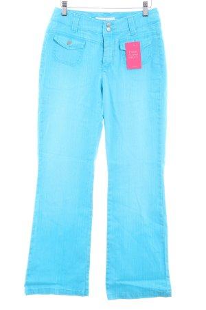 Mac Jeans flare bleu clair style décontracté