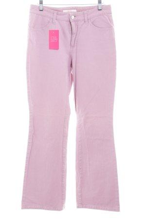 Mac Jeans flare rose style décontracté