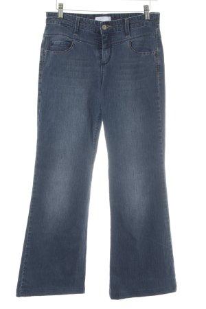 Mac Jeans flare bleu acier style décontracté