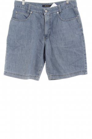 Mac Pantaloncino di jeans blu neon stile casual