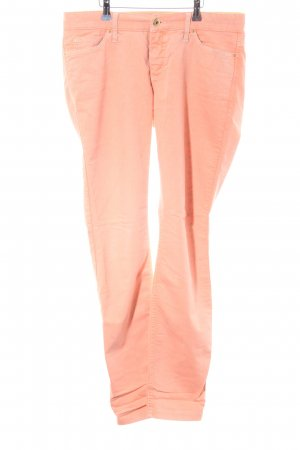 Mac Peg Top Trousers pink-light orange casual look