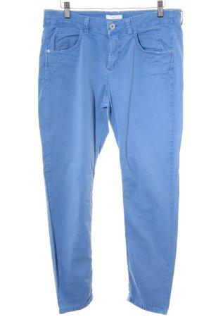 Mac Pantalone peg-top blu acciaio stile casual