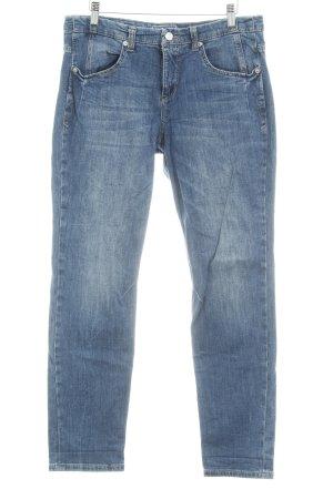 Mac Jeans carotte bleu style décontracté