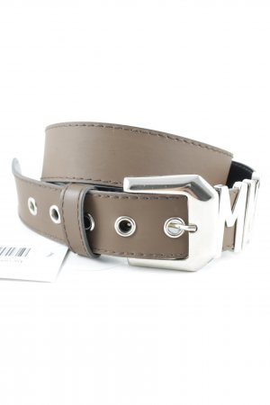 Mac Leather Belt light brown casual look