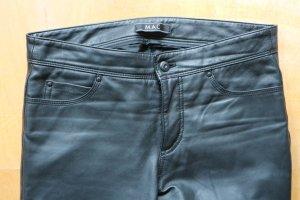 MAC Lederhose Lederjeans echt Leder - schwarz - Gr. 36 L32 - Carrie Pipe