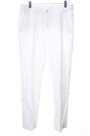 Mac Linnen broek wit zakelijke stijl