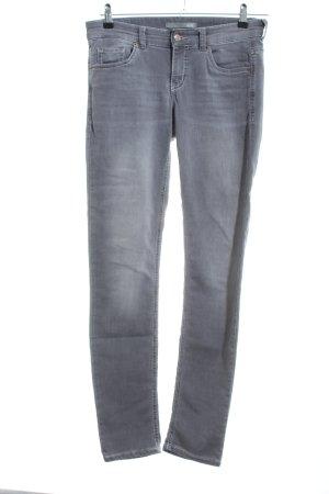 Mac Skinny Jeans hellgrau Casual-Look