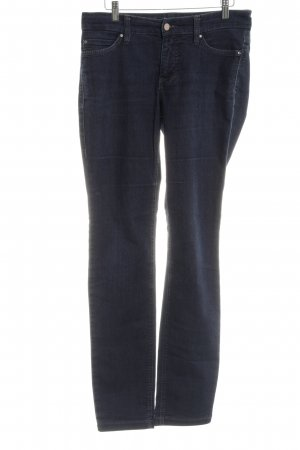 Mac Skinny Jeans blau Casual-Look
