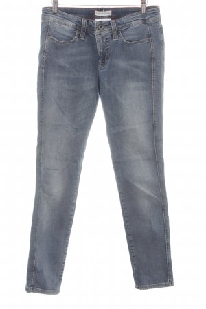 Mac Skinny jeans blauw casual uitstraling