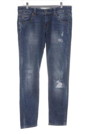 Mac Skinny Jeans blau Casual-Look