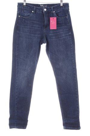 Mac Skinny Jeans dunkelblau Jeans-Optik