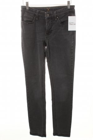 Mac Skinny jeans donkergrijs casual uitstraling