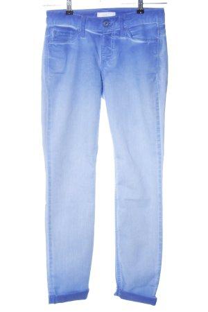 Mac Skinny Jeans blau Farbverlauf Casual-Look