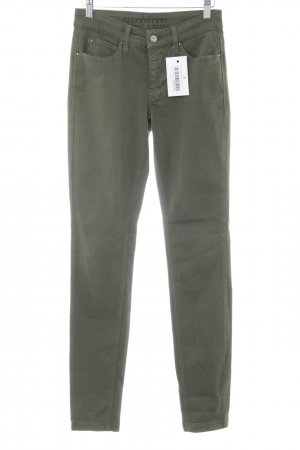 Mac Skinny jeans groen-grijs casual uitstraling