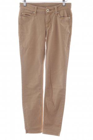 Mac Skinny Jeans nude Casual-Look