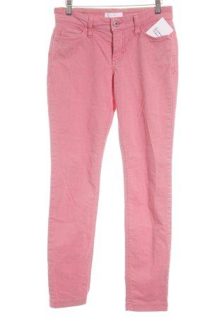 Mac Skinny Jeans pink extravaganter Stil
