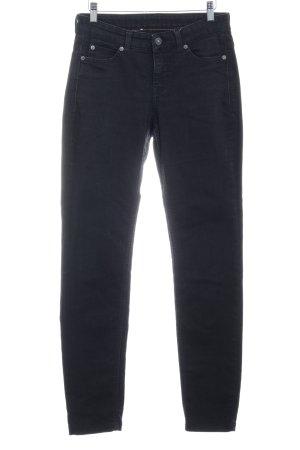 Mac Skinny jeans zwart casual uitstraling