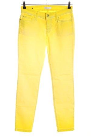 Mac Slim Jeans blassgelb Casual-Look
