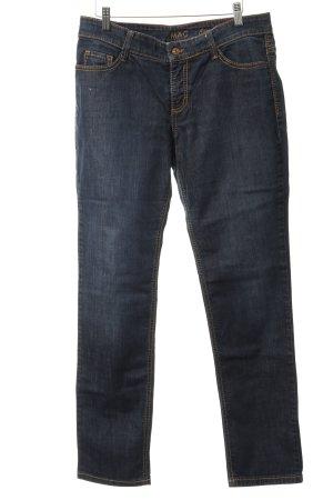 Mac Slim Jeans dunkelblau Business-Look