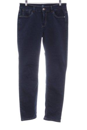 Mac Slim Jeans dunkelblau Casual-Look