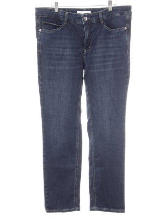 Mac Slim Jeans dunkelblau-graublau Casual-Look
