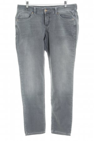 Mac Slim jeans donkergrijs zakelijke stijl