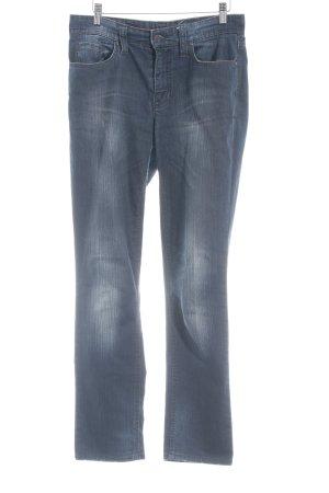 "Mac Slim Jeans ""Melanie"" blau"