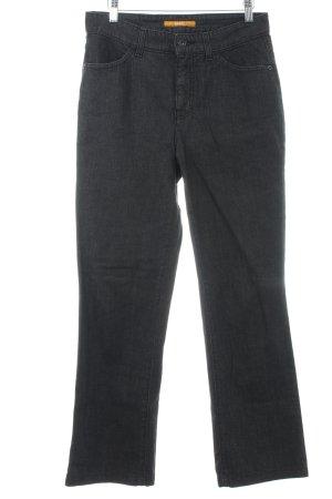 """Mac Slim Jeans """"Melanie"""" schwarz"""