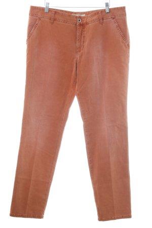 Mac Slim Jeans rostrot Vintage-Look