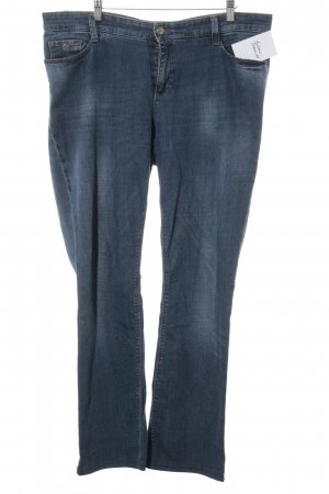 Mac Slim Jeans stahlblau Casual-Look
