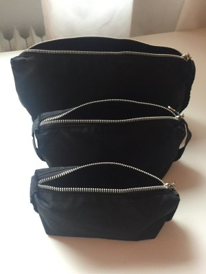 Mac Cosmeticabox zwart-zilver Nylon